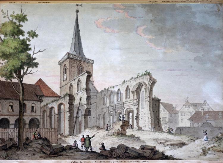 Conférence : Archéologie de l'abbaye de Munster
