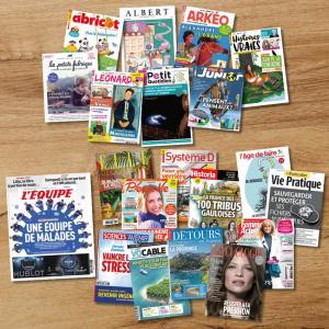 Nouveaux abonnements, nouveaux plaisirs de lecture !